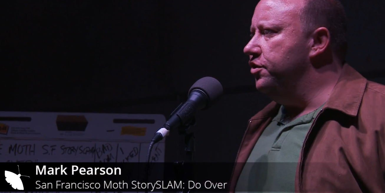 """A story at the Moth StorySlam event on September 30, 2014, at Public Works in San Francisco. The theme of the night, """"Do Over"""""""